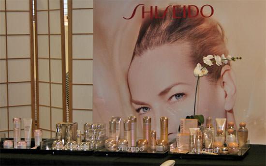 detalle evento en oficinas de Madrid de Shiseido