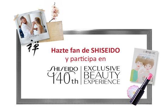 exclusive Beauty Experience con Shiseido