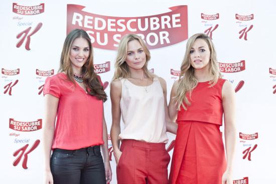 Helen Lindes, Veronica Blume y Carmen Jordá
