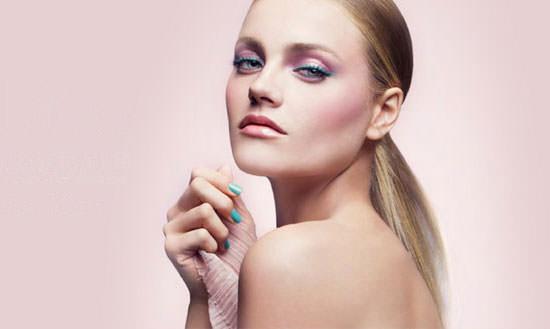 modelo colección Croisette de Dior