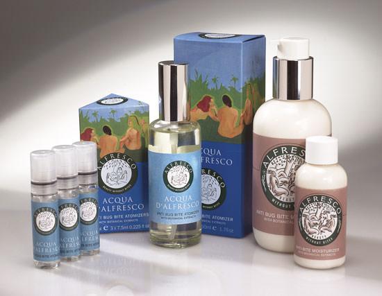 productos Acqua d´Alfresco