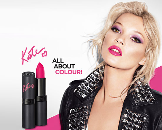 All About Colour by Kate Moss