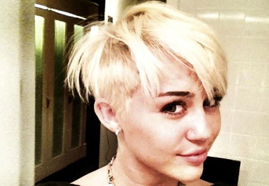 corte de pelo de Miley Cyrus