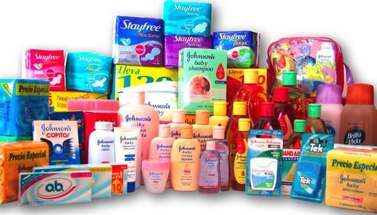 productos Johnson & Johnson