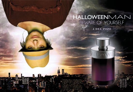 Arantza en presentación de Halloween Man de J. del Pozo