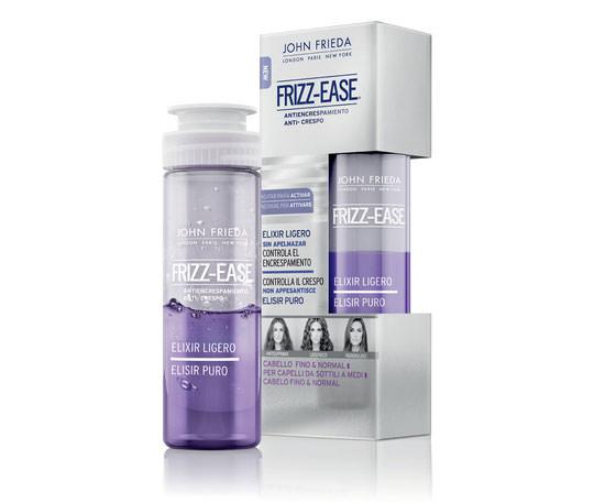 packaging Elixir Ligero Frizz-Ease de John Frieda