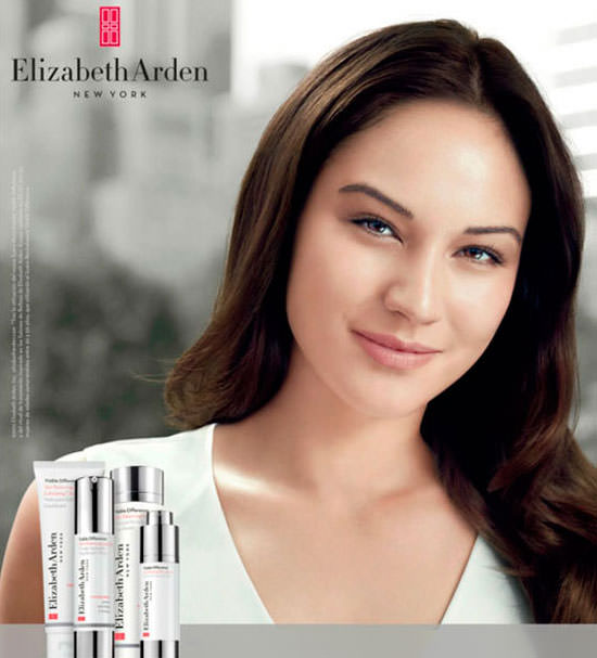 modelo Visible Difference de Elizabeth Arden
