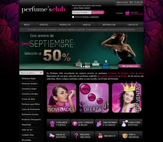 Perfumes Club, tu tienda Low Cost de cosmética