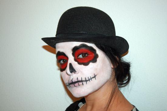 Maquillaje fácil para Halloween