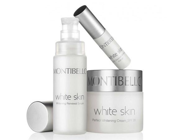 línea de productos White Skin de Montibello