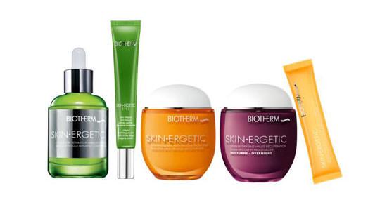 línea de productos Skin Ergetic de Biotherm