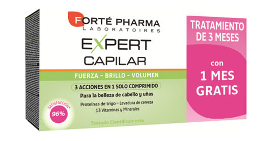 pack promocional Expert Capilar de Forté Pharma