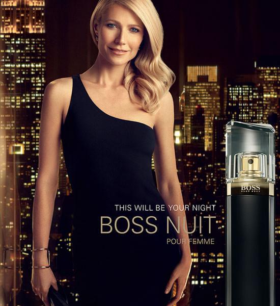 Gwyneth Paltrow para Boss Nuit Pour Femme