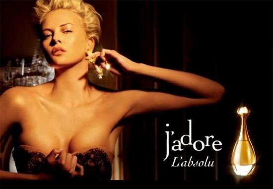 modelo J'Adore L'Absolu de Dior