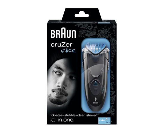packaging Braun CruZer 5 Face