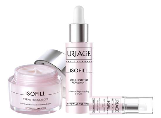 productos Isofill de Laboratorios Uriage