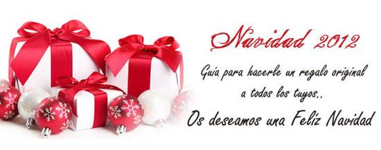Especial regalos Navidad 2012
