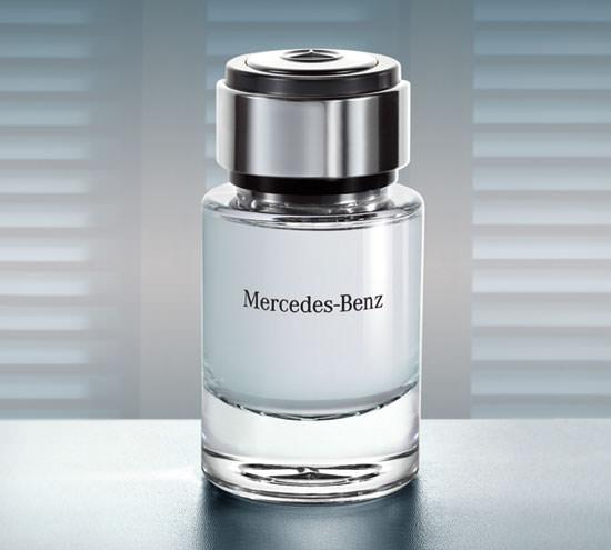 detalle Mercedes Benz Perfume
