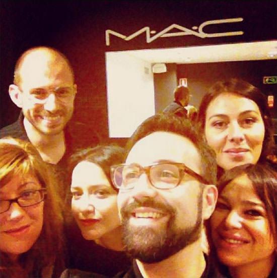evento tienda de Goya con Baltasar Gonzalez y Maite Tuset