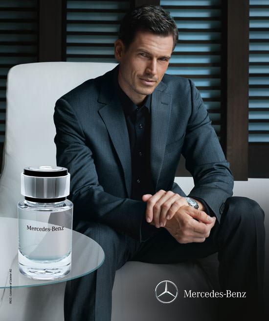 modelo Mercedes Benz Perfume
