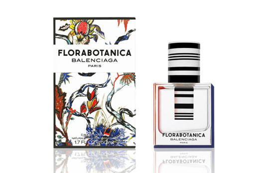 packaging Florabotanica de Balenciaga