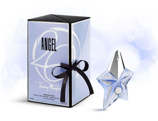 packaging Angel de Thierry Mugler cumple 20 años