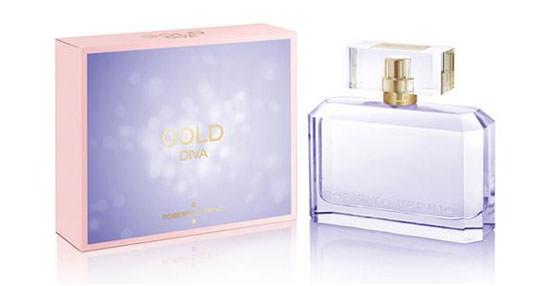 packaging Gold Diva de Roberto Verino
