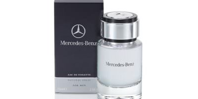 packaging modelo Mercedes Benz Perfume