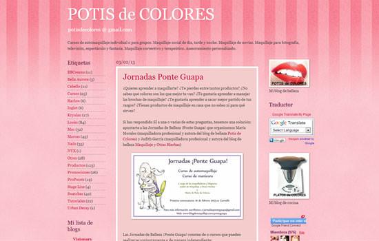 blog de María Potis de colores