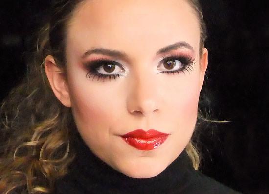maquillaje terminado glamour cabaret