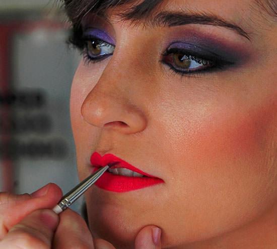 detalle maquillaje novia