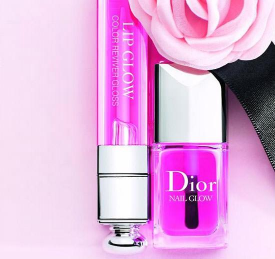 Lip Glow y Nail Glow de Dior