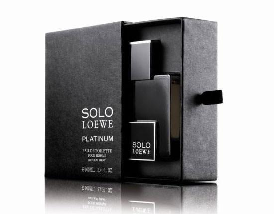 estuche Solo Loewe Platinum