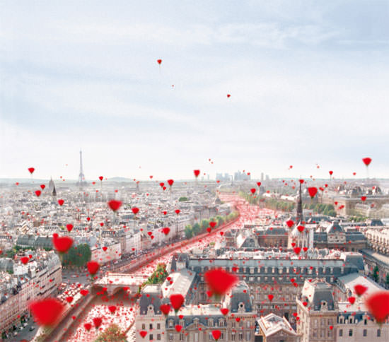 Paris spot de Kenzo