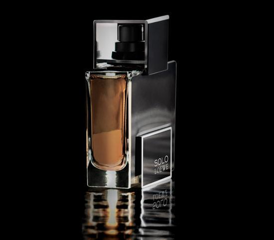 packaging Solo Loewe Platinum