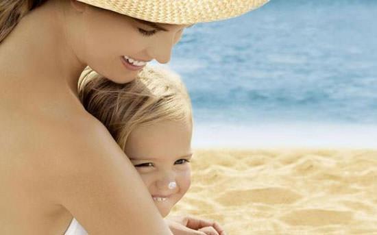 proteger del sol a los niños