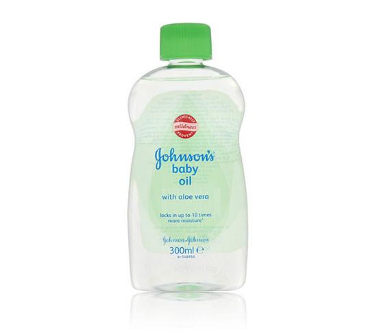 aceite Johnson's Baby con aloe vera