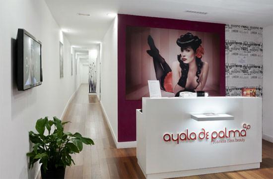 entrada peluquería Ayala de Palma