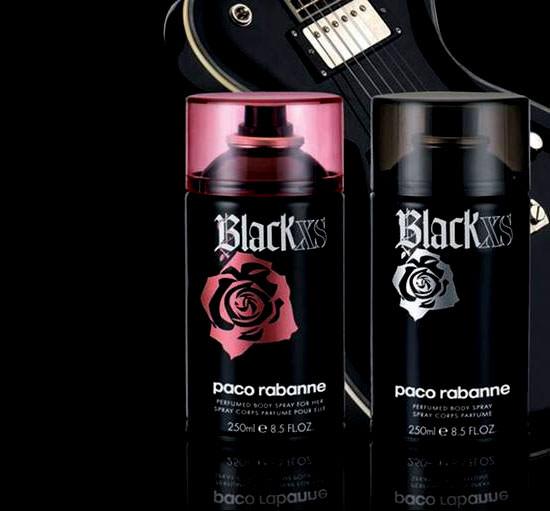 Black XS Body Spray de Paco Rabanne