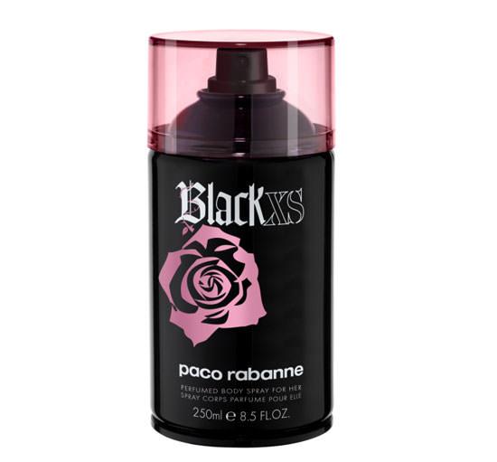 Black XS Body Spray para ella
