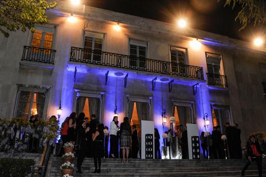 Fiesta Rochas en la embajada de Francia