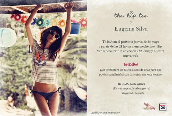 invitación Essie y The Hip Tee
