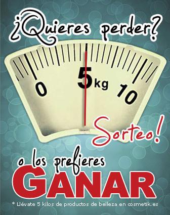 banner del sorteo 5 kilos