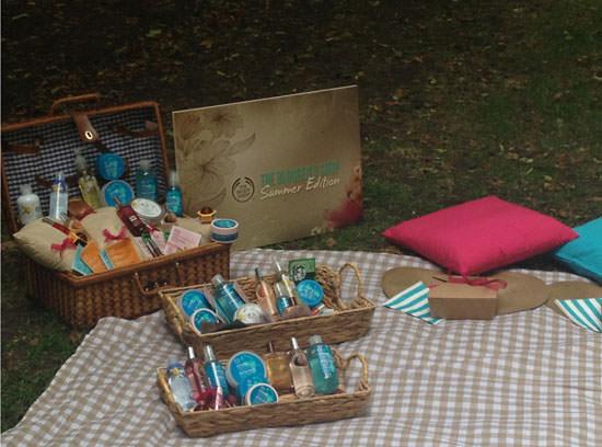 The Body Shop de picnic