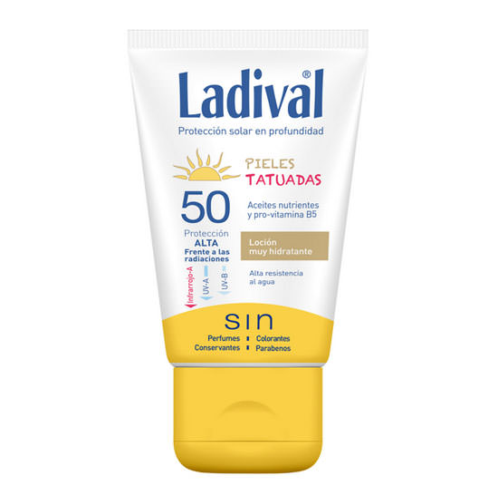 Protector Solar para pieles tatuadas