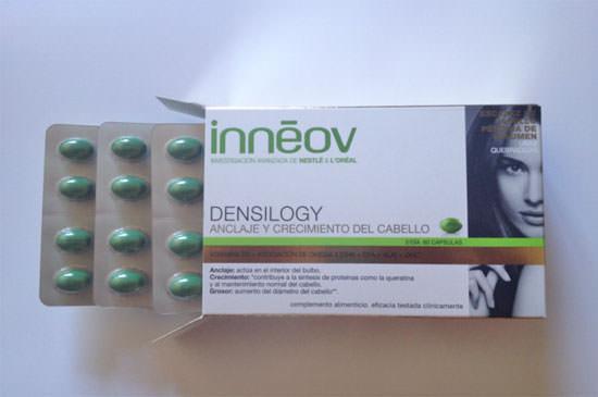 Densilogy de Inneov, anclaje y crecimiento del cabello