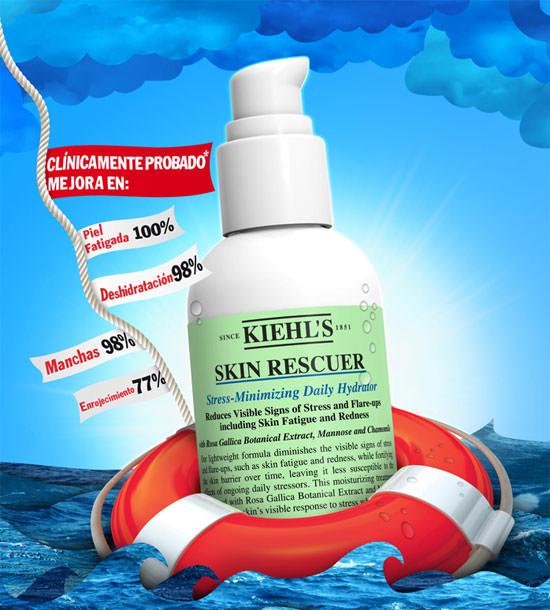 Skin Rescuer de Kiehl's, hidratante anti-fatiga