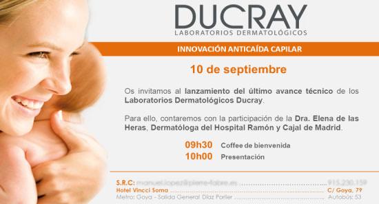 invitación a Ducray