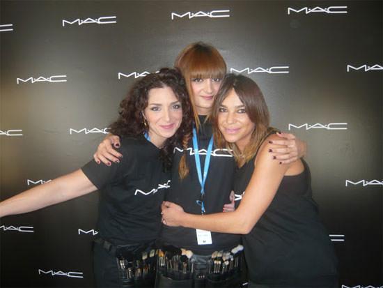 maquilladoras oficiales de MAC
