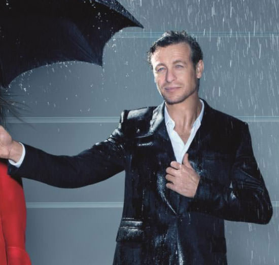 Simon Baker para Givenchy